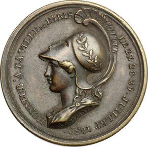 obverse: France. Medal 1830