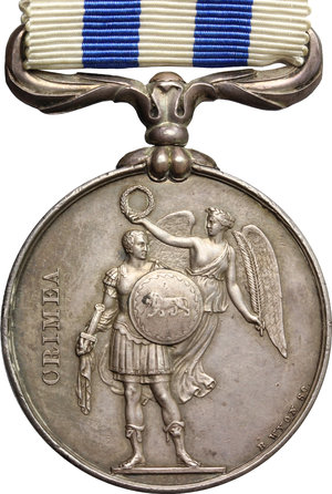 Great Britain.  Victoria (1837-1901). Medal 1854 for the Crimean War,  struck at the Royal mint