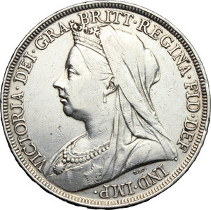 Great Britain.  Victoria (1837-1901).. Crown, 1894, LVIII