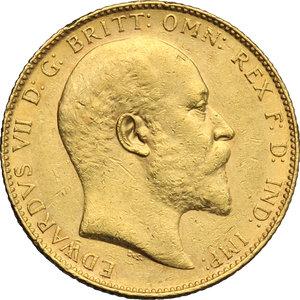 obverse: Great Britain.  Edward VII (1841-1910).. Sovereign 1904