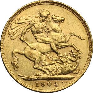 Great Britain.  Edward VII (1841-1910).. Sovereign 1904