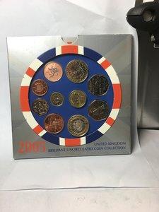 obverse: Great Britain.  Elizabeth II (1952-).. Brilliant Uncirculated coin set 2005