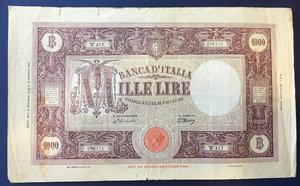 obverse: Luogotenenza. 1 000 lire \grande M\