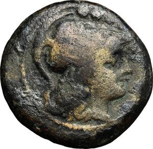 obverse: Crescent (first) series.. AE Triens, c. 207 BC