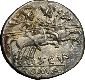 L. Cupiennius.. AR Denarius, 147 BC