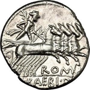 reverse: M. Baebius Q. f. Tampilus.. AR Denarius, 137 BC