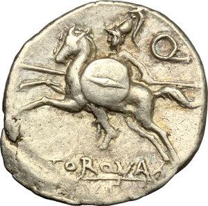 reverse: L. Torquatus.. AR Denarius, 113-112 BC