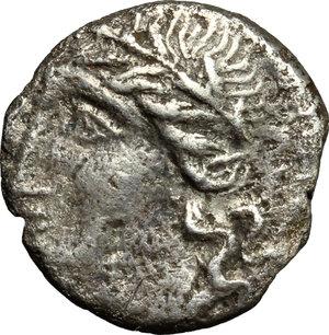 obverse: The Social War, 90-88 BC.. AR Denarius, Bovianum(?) mint. Struck 89 BC