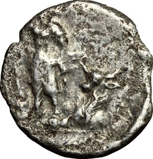 reverse: The Social War, 90-88 BC.. AR Denarius, Bovianum(?) mint. Struck 89 BC