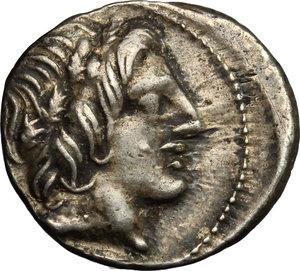 obverse: Vergilius, Gargilius and Ogulnius.. AR Denarius, 86 BC