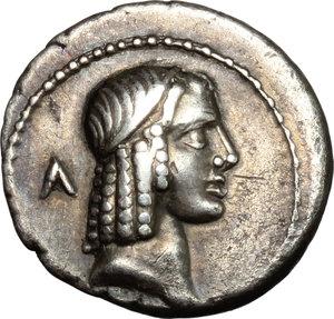 obverse: C. Piso L. f. Frugi.. AR Denarius, 67 BC