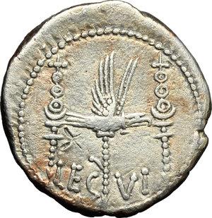 Mark Antony.. AR Denarius, 32-31 BC