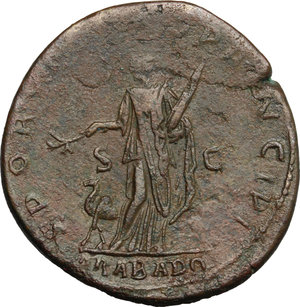 Trajan (98-117).. AE Sestertius, 112-114 AD