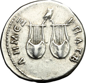 Trajan (98-117).. AR Drachm, Lycia