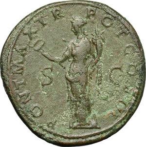 Hadrian (117-138).. AE Sestertius, Rome mint, 119-121 AD