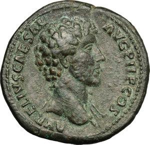 Marcus Aurelius (161-180).. AE Sestertius, 140-144 AD