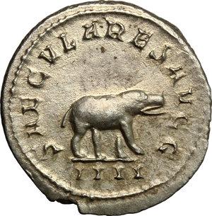 Otacilia Severa, wife of Philip I (244-249).. AR Antoninianus, Rome mint
