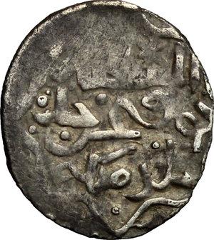 D/ Qrim. Orda d'oro. Toqtamish Khan (778-797-AH/1376-1395 d.C.). Aspro, 796.    Lebedev. cfr. M48a. A. 2048A. AG. g. 1.11  mm. 16.00    BB.