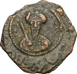 obverse: Antiochia.  Tancredi, Reggente (1101-1104, 1104-1112).. Follis