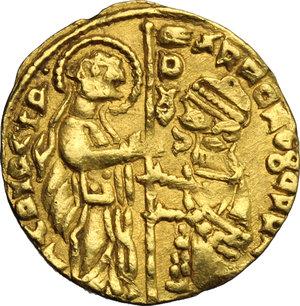 obverse: Zecca incerta. Contraffazione del ducato veneziano (XIV-XV sec.)