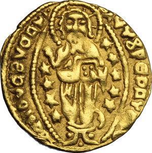 reverse: Zecca incerta. Contraffazione del ducato veneziano (XIV-XV sec.)