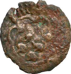 obverse: Oriente Latino. Metelino. Francesco II Gattilusio (1384-1403). Denaro