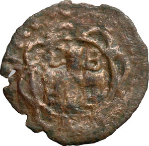 reverse: Oriente Latino. Metelino. Francesco II Gattilusio (1384-1403). Denaro