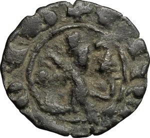 reverse: Cipro.  Giano di Lusignano (1398-1432).. Denaro in mistura
