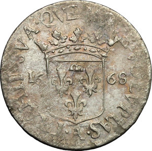Reverse image of coin 555