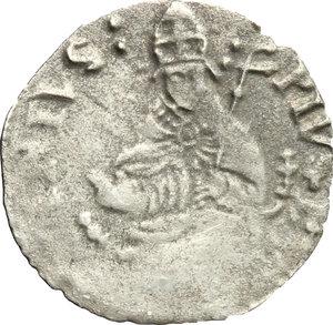 obverse: Avignone.  Pio V (1566-1572).. Carlino