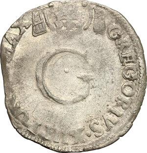 obverse: Avignone.  Gregorio XIII (1572-1585). Da 6 bianchi