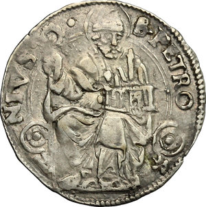 reverse: Bologna.  Anonime Pontificie (Sec. XVI). Carlino
