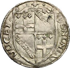 obverse: Bologna.  Anonime Pontificie (Sec. XVI). Carlino