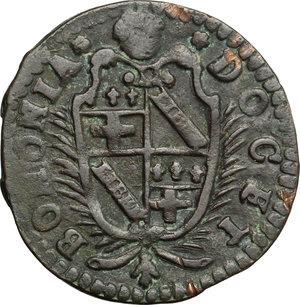 obverse: Bologna.  Clemente XI (1700-1721). Mezzo bolognino 1713