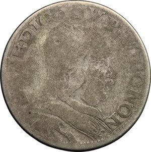 obverse: Bologna.  Benedetto XIV (1740-1758). Bianco 1749