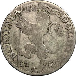 reverse: Bologna.  Benedetto XIV (1740-1758). Bianco 1749