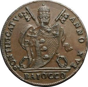 obverse: Bologna.  Pio VII (1800-1823). Baiocco A. XVI, 1816
