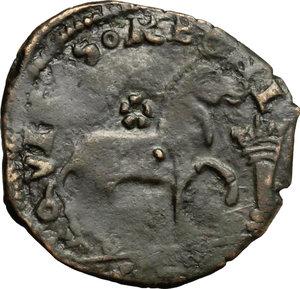 reverse: Brindisi.  Ferdinando I (1458-1494). Cavallo