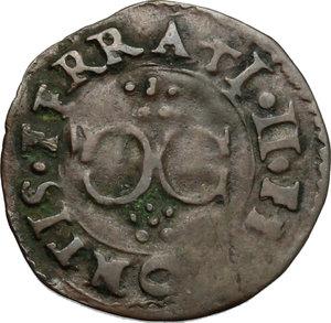 obverse: Casale.  Vincenzo I Gonzaga (1587-1612). Quattrino
