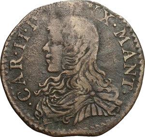 obverse: Casale.  Carlo II Gonzaga Nevers (1647-1665). Soldo 1661