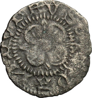 obverse: Fano.  Pandolfo Malatesta (1384-1427).. Picciolo