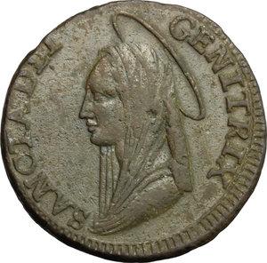 obverse: Fermo.  Pio VI (1775-1799). Madonnina da 5 baiocchi 1797