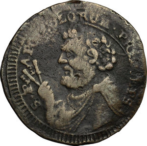 obverse: Fermo.  Pio VI (1775-1799). Sampietrino da 2 e 1/2 baiocchi 1797