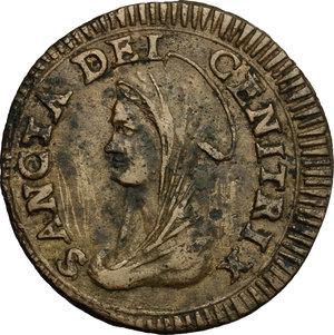 obverse: Fermo.  Pio VI (1775-1799). Madonnina da 5 baiocchi 1799