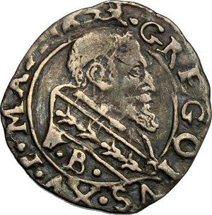 obverse: Ferrara.  Gregorio XV (1621-1623). Mezzo grosso