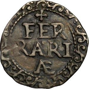 reverse: Ferrara.  Gregorio XV (1621-1623). Mezzo grosso