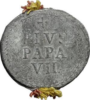 obverse: Roma.  Pio VII (1800-1823), Barnaba Chiaramonti di Cesena. Bolla