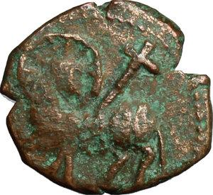 obverse: Salerno.  Guglielmo I (1154-1166). Follaro con Agnus Dei