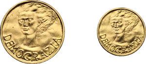 reverse: San Marino. Lotto di due monete: 2 e 1 scudo 1977