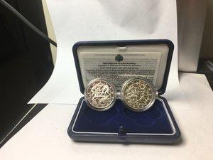 obverse: San Marino. Dittico 5 e 10 euro argento 2003. Olimpiadi di Atene